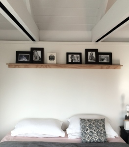 Picture Shelf in my bedroom
